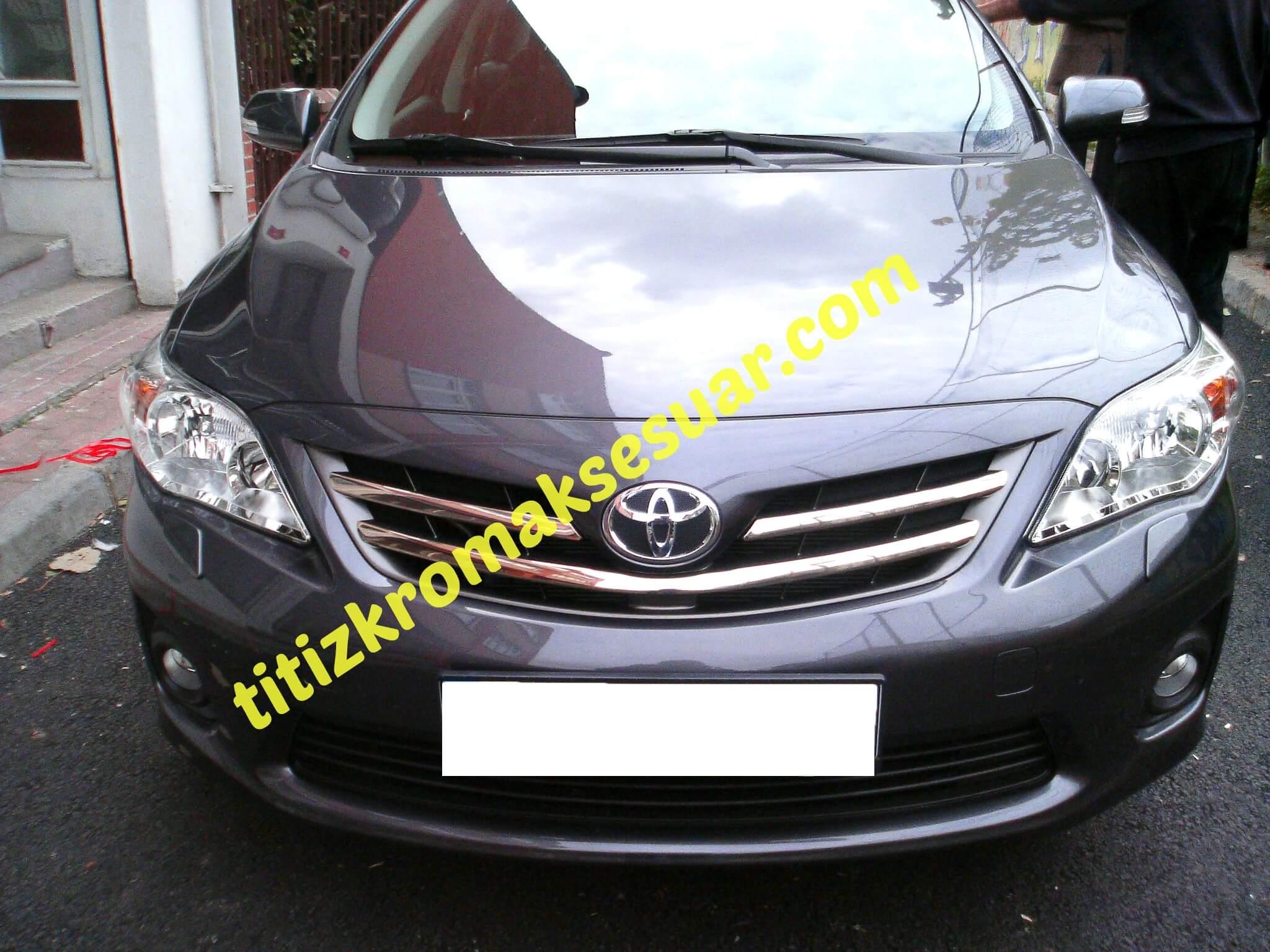 Toyota Corolla 2011 2012 246 N Panjur Aksesuarı